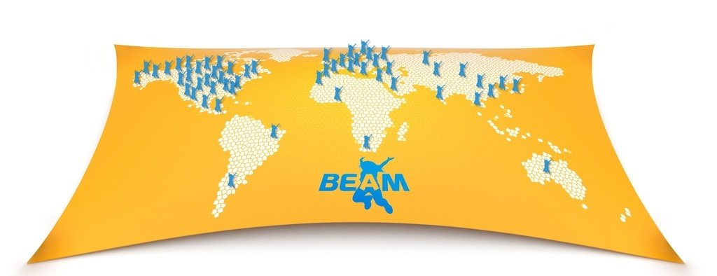 Beam Interactive Projection Games System For Businesses